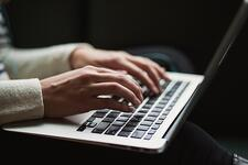 Wervende teksten schrijven - laptop