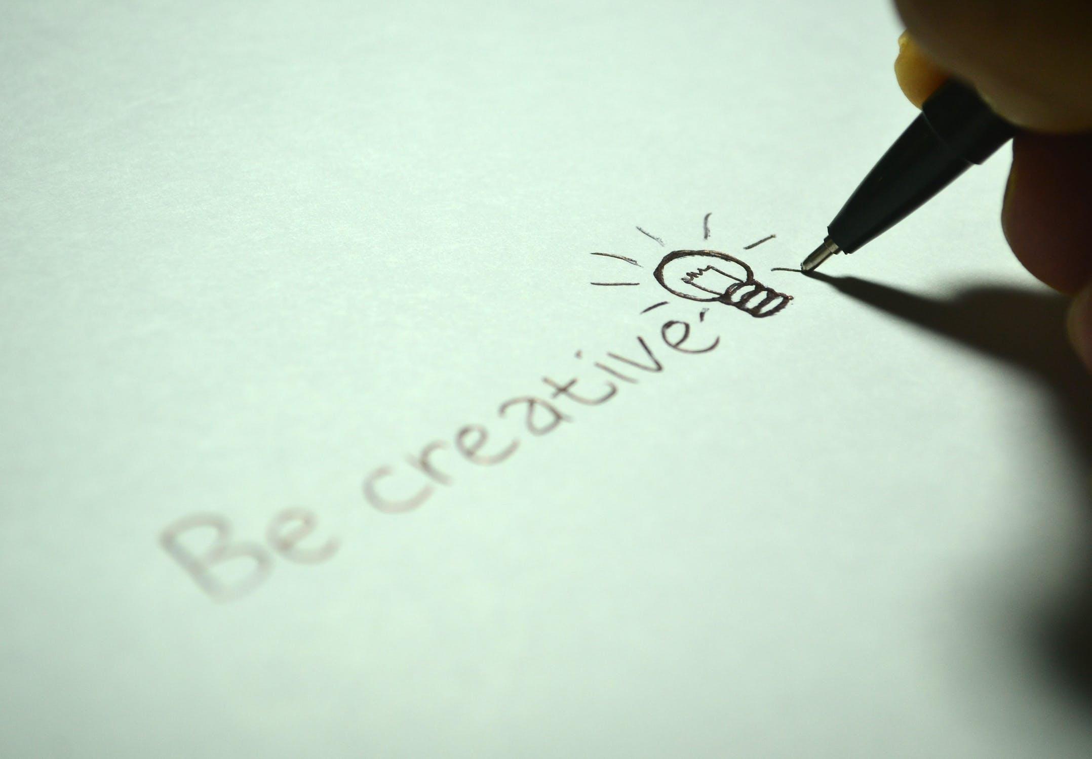 Be creative - Blog over content soorten