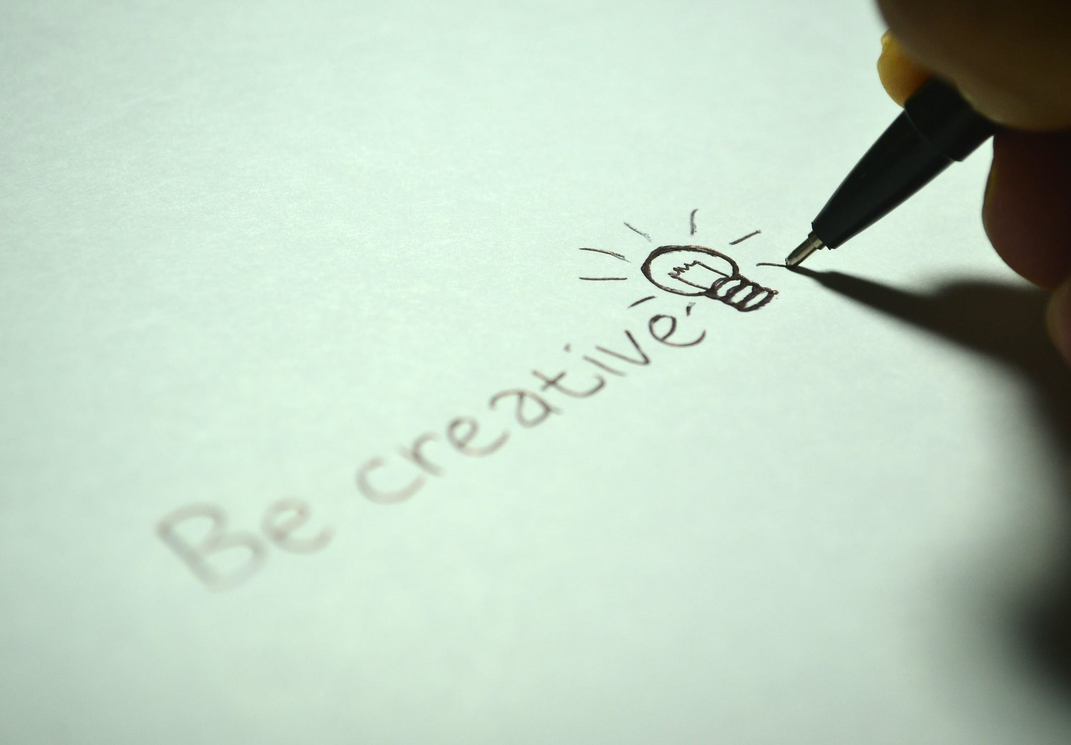 Be creative - Blog over content soorten